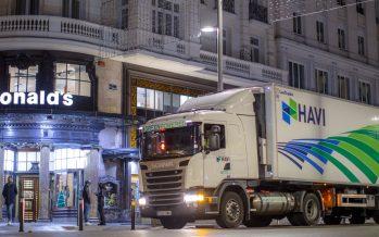 Τα Scania φορτηγά που τροφοδοτούν τα McDonald's δε μολύνουν την ατμόσφαιρα