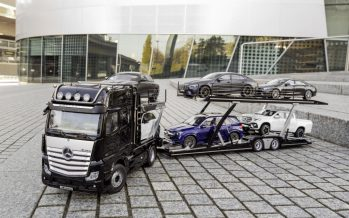 Το νέο Mercedes Actros με τρέιλερ φόρτωσης οχημάτων μόνο 629 ευρώ