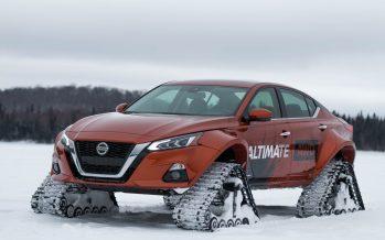 Τετρακίνητο και με ερπύστριες το Nissan Altima (video)