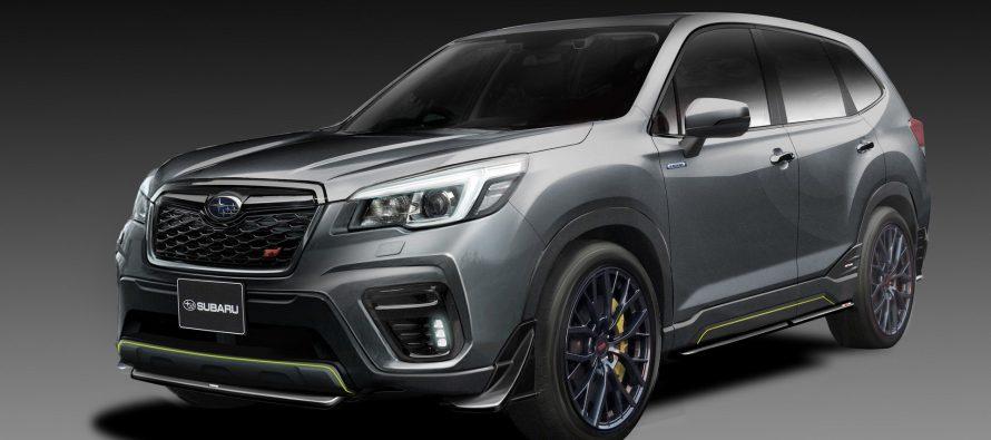 Το Subaru Forester STI Concept εμφανισιακά τουλάχιστον είναι άγριο