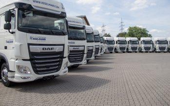 Τεράστια αγορά 540 φορτηγών DAF ΧF