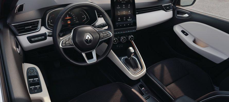 Ιδού το εσωτερικό του νέου Renault Clio (video)