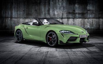 Η νέα Toyota Supra χωρίς οροφή είναι πανέμορφη