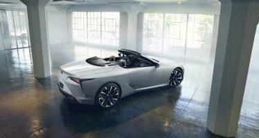 To Lexus LC έγινε cabrio και είναι πανέμορφο (video)
