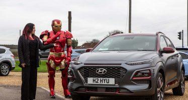 Ο Iron Man βγήκε βόλτα με το Hyundai Kona