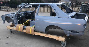 Πωλείται άθικτο σασί μιας BMW M3 που κατασκευάζονταν πριν 25 χρόνια