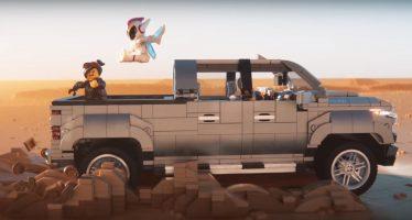 Με τουβλάκια Lego η διαφήμιση του Chevrolet Silverado (video)
