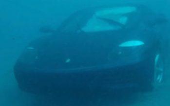 Ήταν θέλημα Θεού να πνιγεί αυτή η Ferrari (video)