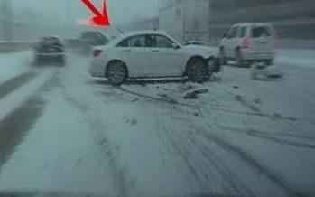 Δείτε πως απέφυγε δυο φορές σύγκρουση ένα Honda Accord (video)