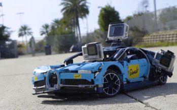 H ταχύτερη τηλεκατευθυνόμενη μινιατούρα της Bugatti Chiron (video)