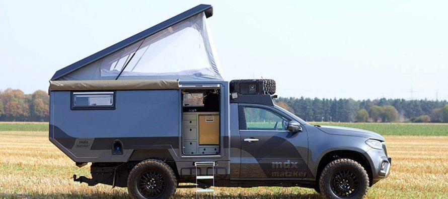 Ιδανική για κάμπινγκ αυτή η Mercedes X-Class, αλλά κοστίζει 180.000 ευρώ