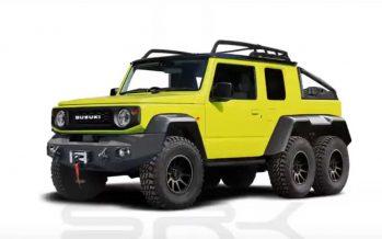 Το Suzuki Jimny με έξι τροχούς και καρότσα (video)