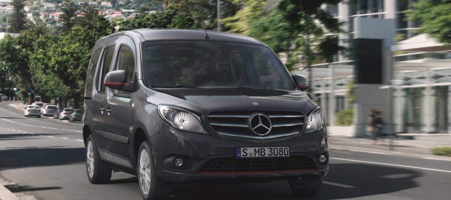 Σπορ εικόνα και μέχρι 116 ίππους για το πετρελαιοκίνητο Mercedes Citan Tourer