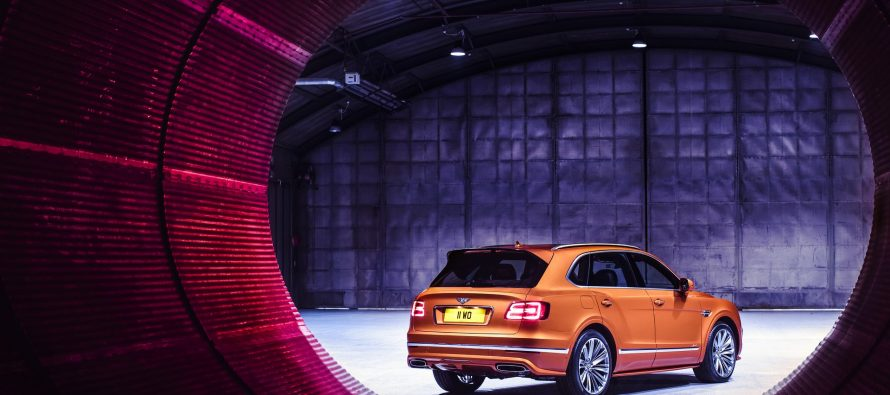 Με 635 ίππους και τελική ταχύτητα 306 χλμ./ώρα η νέα Bentley Bentayga Speed