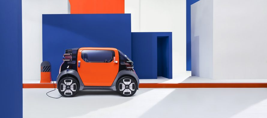 Στην πόλη του μέλλοντος μας πάει βόλτα το νέο Citroen Ami One Concept (video)