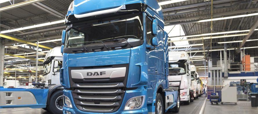 Πόσα φορτηγά DAF πουλήθηκαν το 2018;