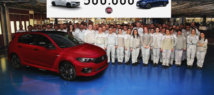 Το κοντέρ παραγωγής του Fiat Τipo έδειξε 500.000