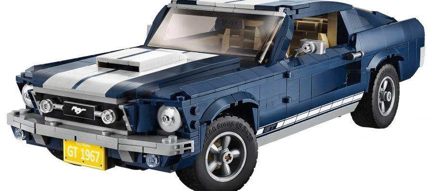1.470 τουβλάκια Lego συνθέτουν το Ford Mustang