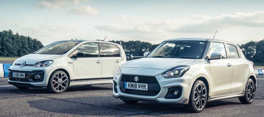 Κόντρα ανάμεσα στο VW Up! GTI και το Suzuki Swift Sport (video)