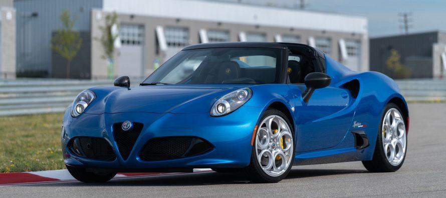 Βέρα Ιταλίδα η Alfa Romeo 4C Spider στη νέα της έκδοση