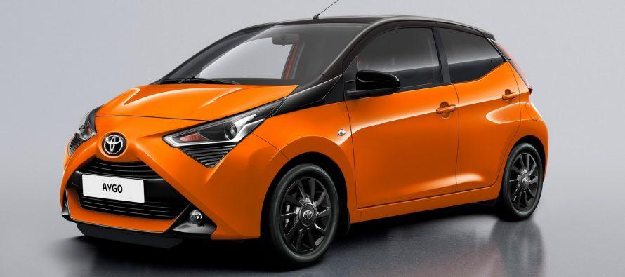 Χρώμα, εξοπλισμός και άφθονο στυλ στο Toyota Aygo