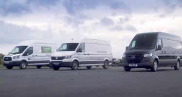 Κοντράρονται στην ευθεία τα βαν Transit, Crafter και Sprinter (video)
