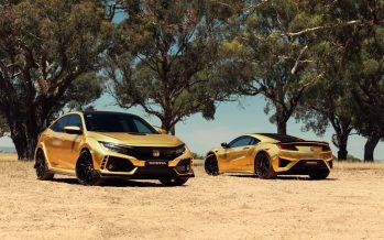 Γιατί η Honda έβαψε χρυσό το Civic Type R και το NSX;