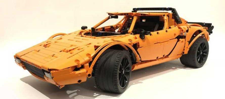 Mε τα ίδια τουβλάκια Lego φτιάχνεις την Porsche 911 GT3 RS και τη Lancia Stratos