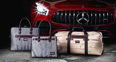 Τσάντες με αποτυπώματα ελαστικών της Mercedes AMG GT R (video)