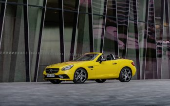 Η Mercedes SLC μας αποχαιρετά με κίτρινο χρώμα