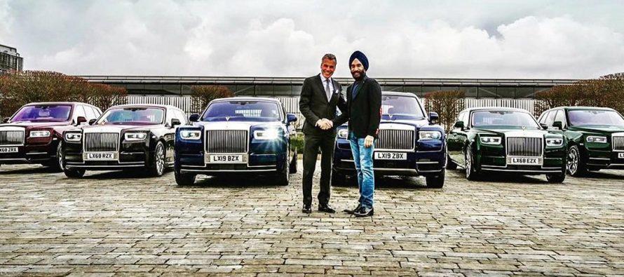 Δισεκατομμυριούχος αγόρασε έξι Rolls-Royce