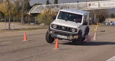Μπορεί το Suzuki Jimny να αποφύγει εμπόδια; (video)