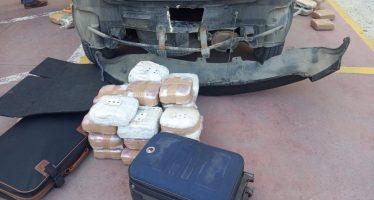 Σε κρύπτες αυτοκινήτου βρέθηκαν 55 κιλά κάνναβης (video)