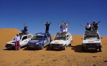 Τα Fiat Panda κατέκτησαν την έρημο του Μαρόκου