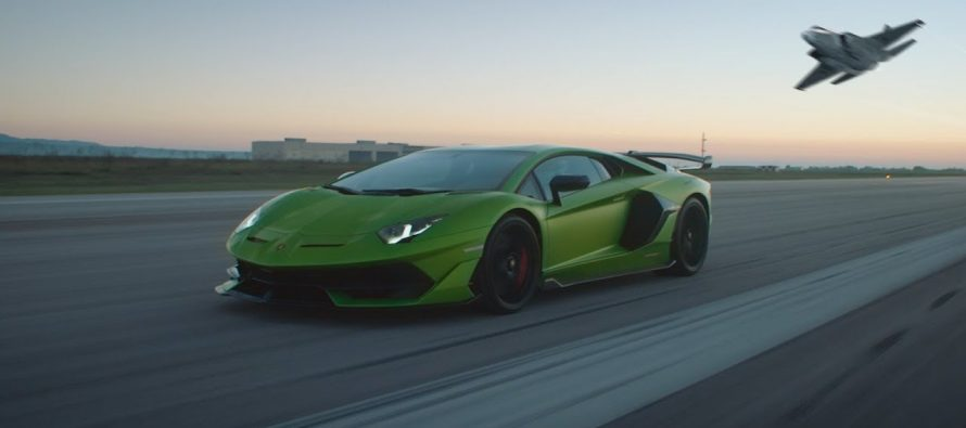 Τι κοινό έχει ένα μαχητικό αεροσκάφος με τη Lamborghini Aventador SVJ; (video)