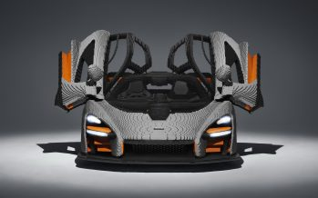 Μισό εκατομμύριο τουβλάκια Lego για να χτιστεί η McLaren Senna