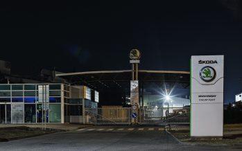 Στο σκοτάδι τρία εργοστάσια της Skoda