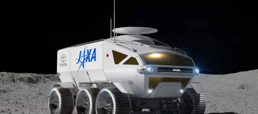 H Toyota θα πάει στη Σελήνη με αυτό το όχημα (video)