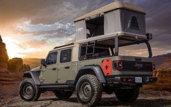 Κρεβάτι με θέα τη φύση πάνω στο νέο Jeep Wayout