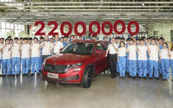 Νέο ρεκόρ της Skoda με συνολική παραγωγή 22 εκατομμυρίων οχημάτων