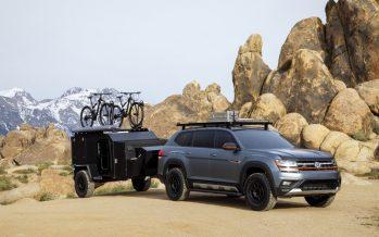 Το νέο Volkswagen Atlas Basecamp Concept είναι ένα εξοχικό στο βουνό