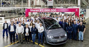Κατασκευάστηκε το εκατομμυριοστό Volkswagen Sharan