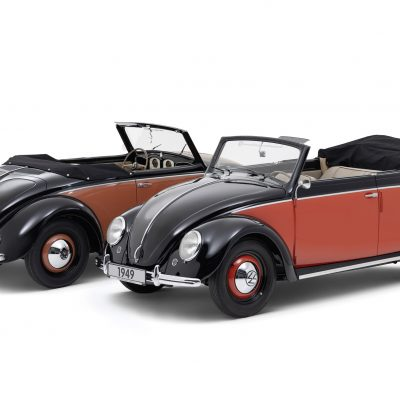 70 years of production of the Beetle Cabriolet: Volkswagen 1100