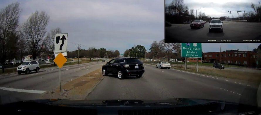 Όλα λάθος στην αναστροφή που έκανε αυτό το Mazda CX-7 (video)