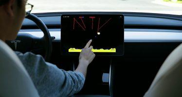 Το βιντεοπαιχνίδι Atari στις οθόνες αφής των Tesla (video)