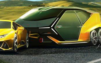 Το τροχόσπιτο της Lamborghini