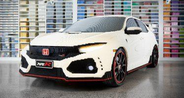Το Honda Civic Type R από 320.000 τουβλάκια Lego (video)