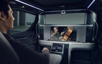 Oθόνη 26 ιντσών στην καμπίνα του νέου Lexus LM (video)