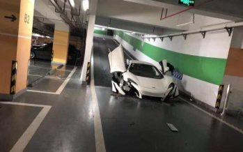 Αν έχετε τη McLaren 650S προσέχετε όταν κατεβαίνετε σε υπόγεια πάρκινγκ