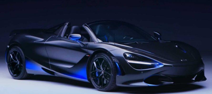 Μαντέψτε πόσες ώρες και πόσα χρήματα χρειάστηκαν για την απόχρωση αυτής της McLaren 720S Spider (video)